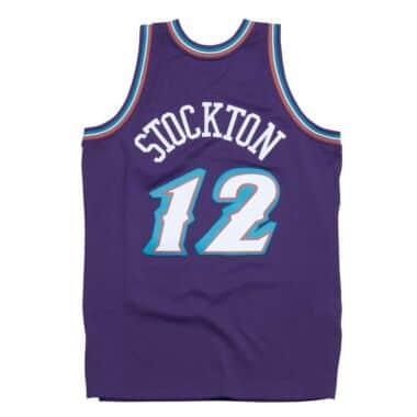 John Stockton 1996-97 Utah Jazz Road Swingman Jersey c3df36a43