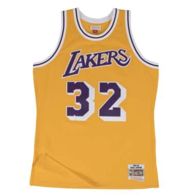 0b161d06d38 Magic Johnson Swingman Jersey Los Angeles Lakers
