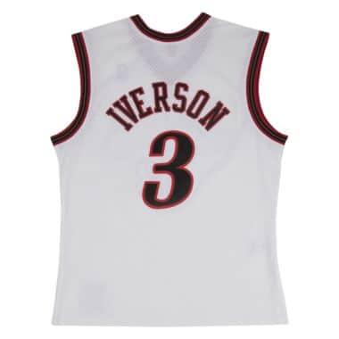 bb8b750bc 353J3P6FGYAIV. Allen Iverson Swingman Jersey 2000-01 Philadelphia 76ers