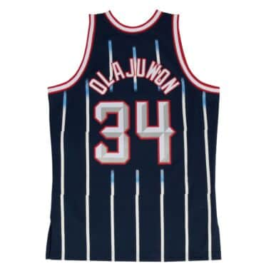 552e954ed1e8 ... blue jerseysnba store 503houston rockets jerseys e62cd dbc1c  closeout hakeem  olajuwon swingman jersey houston rockets e8836 811e1
