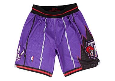 brand new 070a1 5e3f8 1998-99 Authentic Shorts Toronto Raptors