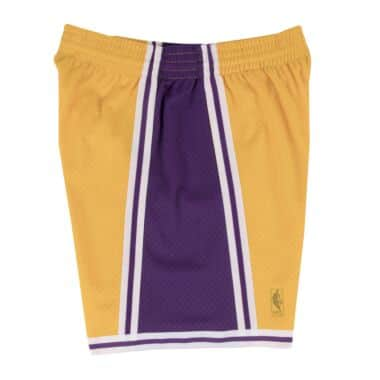 6015b2db84f Swingman Shorts Los Angeles Lakers Mitchell   Ness Nostalgia Co.