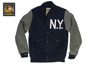 5690db0355b Outerwear - New York Yankees Throwback Apparel   Jerseys
