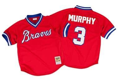 0320f1d160c Off Field Tee Atlanta Braves Dale Murphy - Shop Mitchell   Ness ...