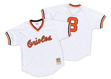5cca246d7d5 Cal Ripken Jr. 1985 Authentic Mesh BP Jersey Baltimore Orioles ...