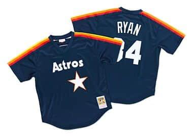d6c7a691d34 Nolan Ryan 1988 Authentic Mesh BP Jersey Houston Astros