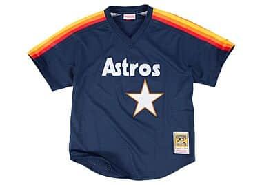 Houston Astros Throwback Apparel Jerseys Mitchell Ness