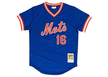 6bc3ffead50 Dwight Gooden 1986 Authentic Mesh BP Jersey New York Mets