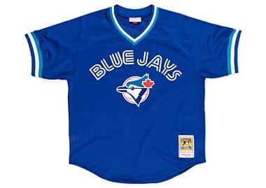 9687f343a Roberto Alomar 1993 Authentic Mesh BP Jersey Toronto Blue Jays