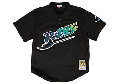 1d50fe20781 Wade Boggs 1998 Authentic Mesh BP Jersey Tampa Bay Devil Rays ...
