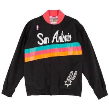 ffe0c9284c44 1994-95 Authentic Warm Up Jckt San Antonio Spurs