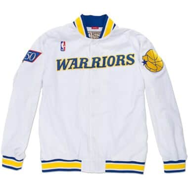 8eb3e7f34076b 1996-97 Authentic Warm Up Jacket Golden State Warriors
