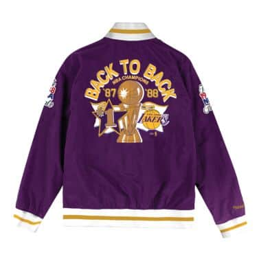 b4d03d5f Team History Warm Up Jacket Los Angeles Lakers Mitchell & Ness ...