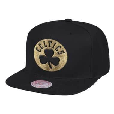 online store 229a9 6573b Team Gold Snapback Boston Celtics