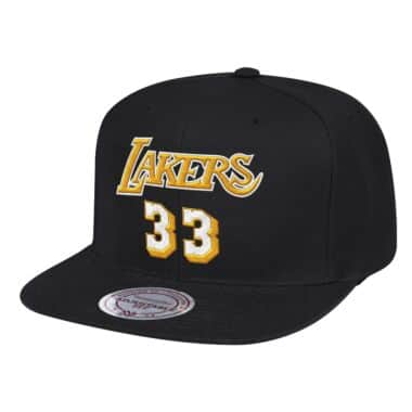 69cd2b94e Lakers 33 Snapback Los Angeles Lakers Kareem Abdul-Jabbar