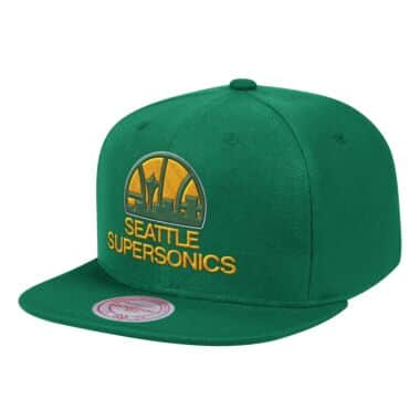 the best attitude 59424 cb5c3 Team Ground Snapback Seattle SuperSonics