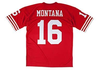 8973cd775fc Joe Montana 1989 Authentic Jersey San Francisco 49ers