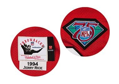 0a822c5b0 Jerry Rice 1994 Authentic Jersey San Francisco 49ers Mitchell   Ness ...