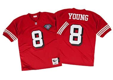 86e4f614e Steve Young 1994 Authentic Jersey San Francisco 49ers Mitchell ...