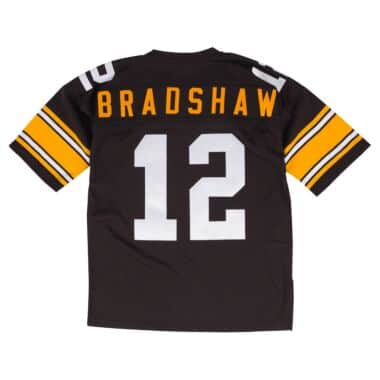 04b93b397 Terry Bradshaw 1975 Authentic Jersey Pittsburgh Steelers