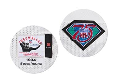 25d11db93b7 Steve Young 1994 Authentic Jersey San Francisco 49ers Mitchell ...
