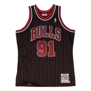 664377285622 Dennis Rodman Authentic Jersey 1995-96 Chicago Bulls