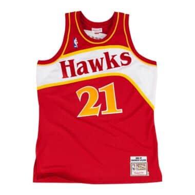 b832812e30a Dominique Wilkins 1986-87 Authentic Jersey Atlanta Hawks