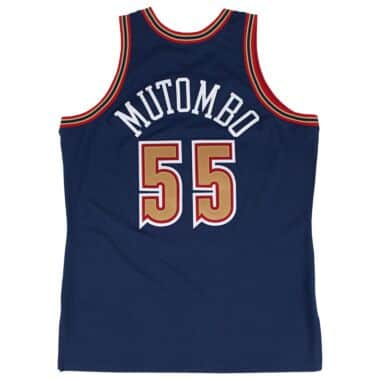 a9133703e41 722630993DMUT2. Dikembe Mutombo 1993-94 Authentic Jersey Denver Nuggets