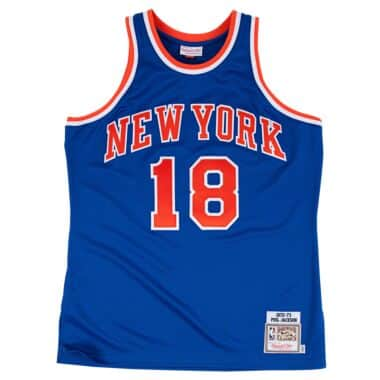 65fe1a4f67350 Phil Jackson 1972-73 Authentic Jersey New York Knicks