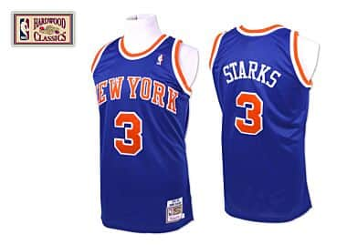 ce19b0b47584 John Starks 1991-92 Authentic Jersey New York Knicks