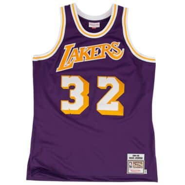 728f77e5c33f Magic Johnson 1984-85 Authentic Jersey Los Angeles Lakers