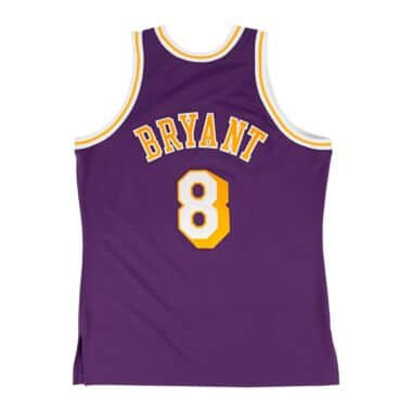 d2b46207c Kobe Bryant 1996-97 Authentic Jersey Los Angeles Lakers Mitchell ...