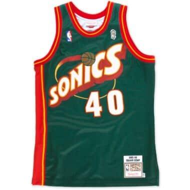 4353c200eecf Shawn Kemp 1995-96 Authentic Jersey Seattle SuperSonics