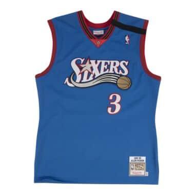 e9c98de68e5 Allen Iverson Authentic Jersey 1999-00 Philadelphia 76ers
