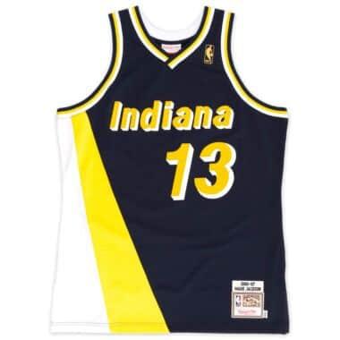 c4c2103a7de0 ... gold replica swingman jersey statement edition b8ec4 bab3b new zealand mark  jackson 1996 97 authentic jersey indiana pacers 3cf2c d97f2 ...