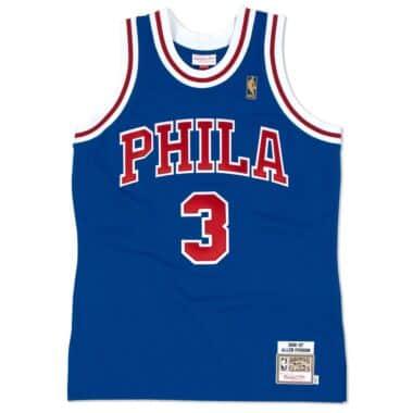 858bb0a96 Jerseys - Philadelphia 76ers Throwback Apparel   Jerseys