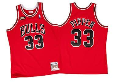 419a5fb3b5d Scottie Pippen 1997-98 Authentic Jersey Chicago Bulls