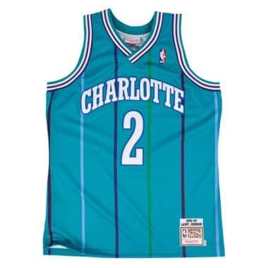 72062610c62 Larry Johnson 1992-93 Authentic Jersey Charlotte Hornets
