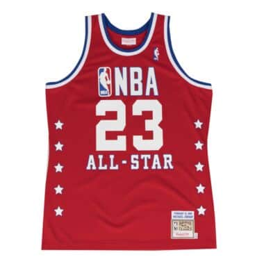 Michael Jordan 1989 Authentic Jersey NBA All-Star da035ea75