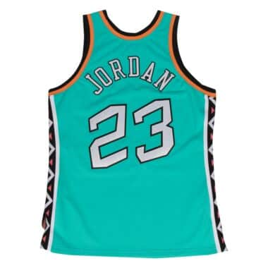 Michael Jordan 1996 Authentic Jersey NBA All-Star Mitchell   Ness ... 2392f0ee7fff