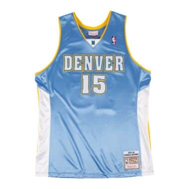 4f6ad485d Carmello Anthony 2003-04Authentic Jersey Denver Nuggets
