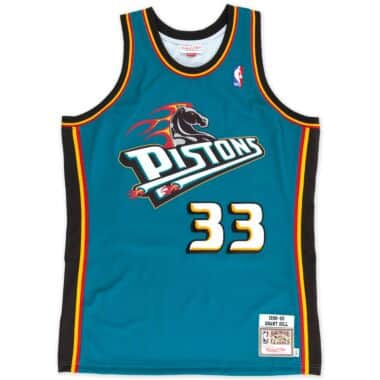b47f9e1519f6 Grant Hill 1998-99 Authentic Jersey Detroit Pistons