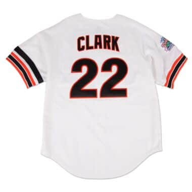 7c5eac008 Will Clark 1989 Authentic Jersey San Francisco Giants