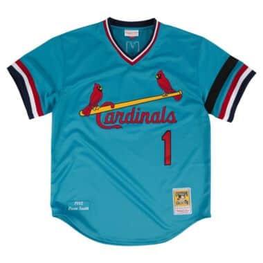 43f11fda0 Ozzie Smith 1982 Authentic Jersey St. Louis Cardinals