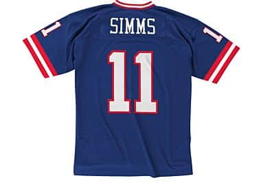09deea689 Phil Simms 1986 Legacy Jersey New York Giants