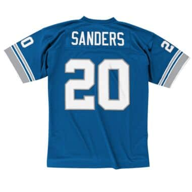 23e4c70a18c Barry Sanders 1996 Legacy Jersey Detroit Lions Mitchell   Ness ...