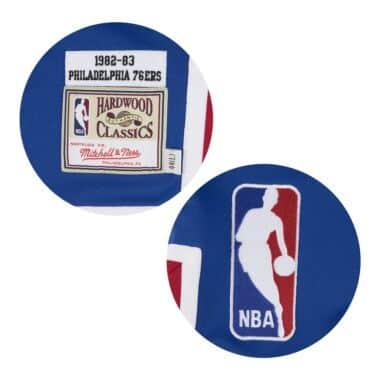 58bb41f32f11 Authentic Shooting Shirt 1982-83 Philadelphia 76ers Mitchell   Ness ...