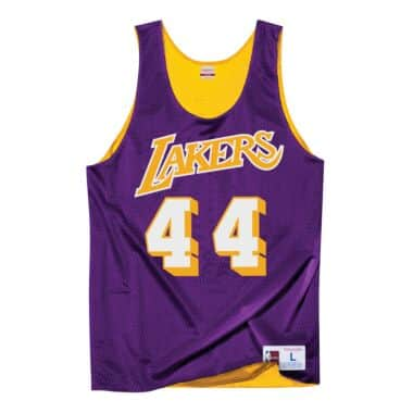 a43c6e64606 Jerry West All-Star Reversible Tank Los Angeles Lakers Mitchell ...
