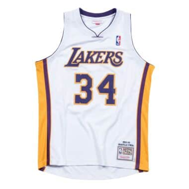 6cf400e0b80f Shaquille O Neal 2003-04 Los Angeles Lakers Authentic Jersey