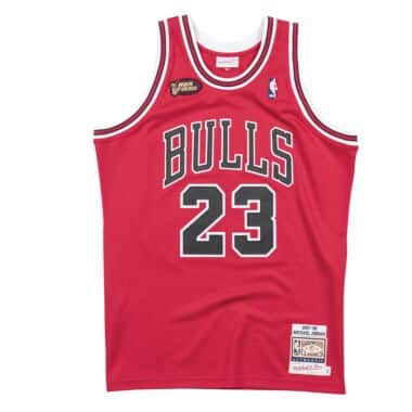 44a11692c59 Authentic Jersey Chicago Bulls Road Finals 1997-98 Michael Jordan